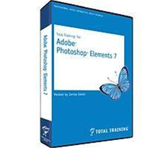 Total Training New!  Total Training for Adobe Photoshop Elements 7 - 6 hours DVD