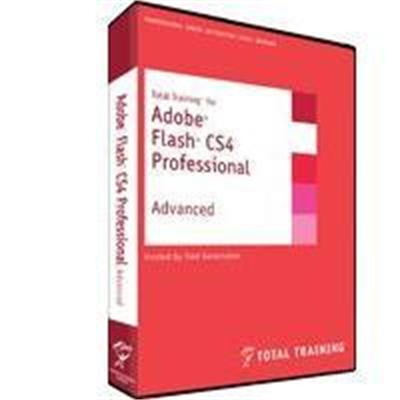 Total TrainingAdobe Flash CS4 Advanced - 8 Hrs, 1 DVD(152927393)