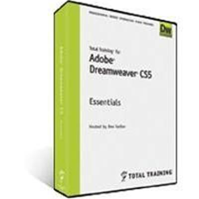 Total Training Adobe Dreamweaver CS5: Essentials - 7.8 Hrs, DVD (152730193)