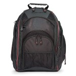 EVO Laptop Backpack - Black / Red