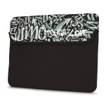 Sumo Graffiti Sleeve Neoprene iPad - Black