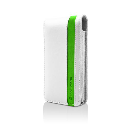 MarBlue Accent for iPhone 4 - White/Green