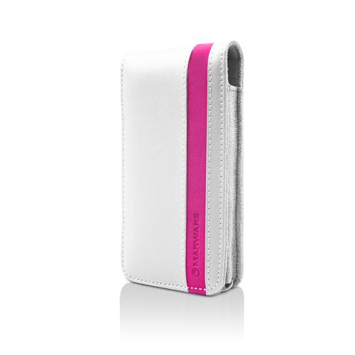 MarBlue Accent for iPhone 4 - White/Pink