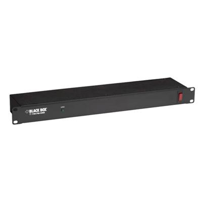 Black Box Switchless Premium Rackmount Surge Suppressor, 330 V, 6 Rear Outlets (SP215A-R2)