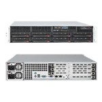 "Supermicro SuperServer 6026T-6RFT+ - Server - rack-mountable - 2U - 2-way - RAM 0 MB - SATA/SAS - hot-swap 3.5"" - no HDD - DVD - MGA G200eW - GigE - monitor: none"