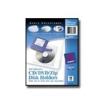 afterBURNER CD Design Labels - Media holder - capacity: 1 Zip disk, 1 CD, 1 DVD (pack of 10)