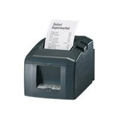 Oki RT322cn LAN Monochrome Direct Thermal Receipt Printer with Cutter - Charcoal