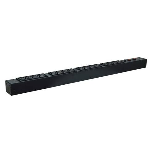 Cyberpower Basic Series PDU30BVHVT16F - Power distribution unit ( rack-mountable ) - AC 200-230 V - 16 output connector(s) - 0U - for Smart App Online OL10000, OL6000, OL8000; Smart App Sinewave PR5000, PR6000