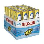 20 Pack AA Alkaline Batteries - Gold
