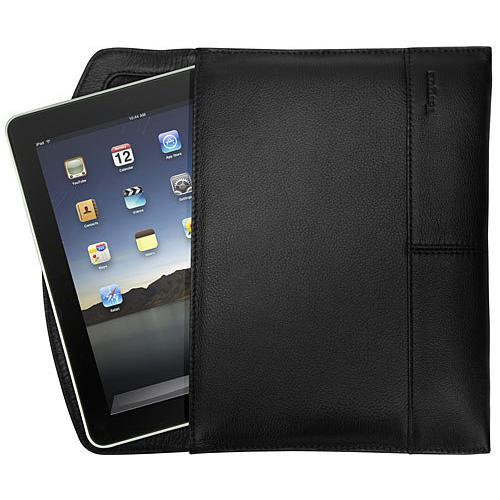 Targus Leather Portfolio Slipcase - soft case for web tablet