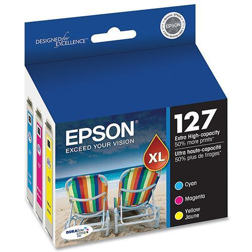 Epson 127 Dual Pack - 2-pack - black - original - ink cartridge