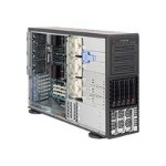 Supermicro SC748 TQ-R1400B - Tower - 4U - extended ATX - SATA/SAS - hot-swap 1400 Watt - black - USB