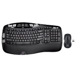 Mk550 Wireless Wave Combo with Keyboard and Laser Mouse