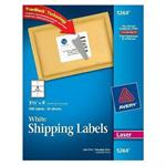 Avery Dennison Laser Address Labels on Smooth Feed Sheets™ 5264
