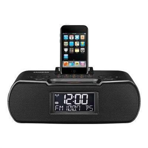 Sangean CR-10 - clock radio with Apple Dock cradle