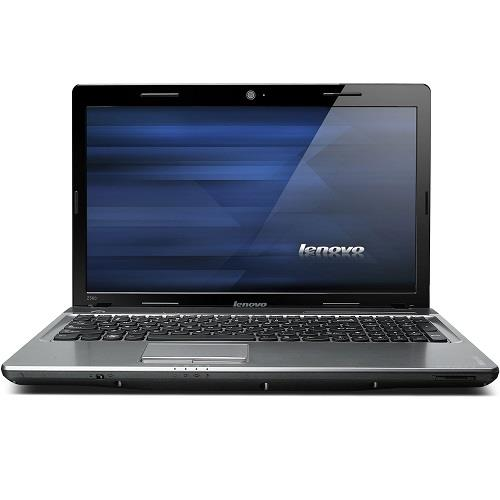 "Lenovo IdeaPad Z560 0914 Intel Core i3-350M Dual-Core 2.26GHz Notebook - 3GB RAM, 500GB HDD, 15.6"" HD LED, DVD±RW, Fast Ethernet, 802.11b/g/n, Bluetooth, Webcam, 6-cell Li-Ion, Black"