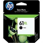 HP Inc. 61XL - High Yield - black - original - ink cartridge - for Deskjet 15XX, 2050A J510, 25XX, Ink Advantage 1515; Envy 45XX, 55XX; Officejet 2620, 46XX CH563WN#140