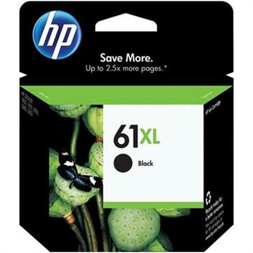 HP 61XL - High Capacity - black - original - ink cartridge