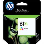 61XL - High Yield - color (cyan, magenta, yellow) - original - ink cartridge - for Deskjet 15XX, 2050A J510, 25XX, Ink Advantage 1515; Envy 45XX, 55XX; Officejet 2620, 46XX