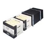 Media storage box - black