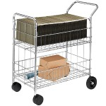 Fellowes Wire Mail Cart 40912