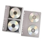 "CD-ROM/5.25"" Diskette Media Protectors for 3-Ring Binders"