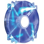 Cooler Master MegaFlow 200 - Case fan - 200 mm - blue R4-LUS-07AB-GP