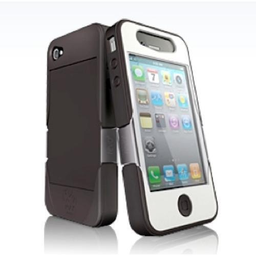 iSkin revo4 for iPhone 4 - Falcon (Dark Brown + White)