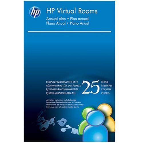 HP Smart Buy Virtual Rooms (up to 25 people in one meeting) License