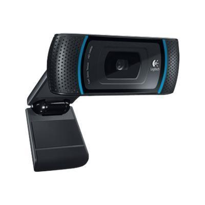 Logitech B910 HD Webcam - High Def Web camera - color - audio - Hi-Speed USB (960-000683)