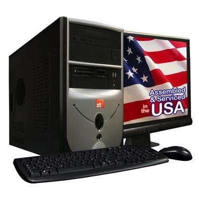 ZT Systems 2134NA AMD Athlon II X2 Dual-Core 255 3.1GHz Desktop - 2GB RAM, 500GB HDD, 18.5