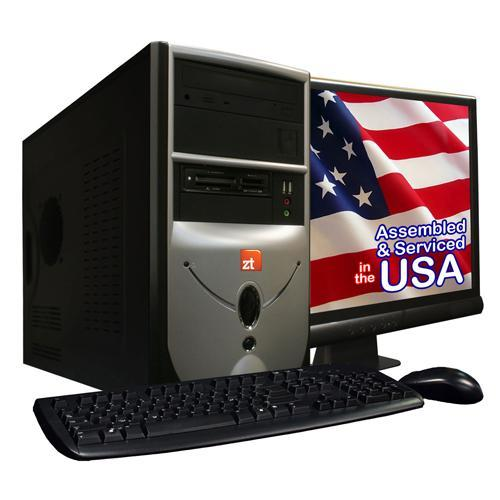 "ZT Systems 2134NA AMD Athlon II X2 Dual-Core 255 3.1GHz Desktop - 2GB RAM, 500GB HDD, 18.5"" LCD, NVIDIA GeForce 6150SE, DVD±R/RW, Fast Ethernet"