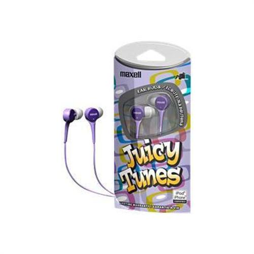 Maxell Juicy Tunes Ear Buds - headphones