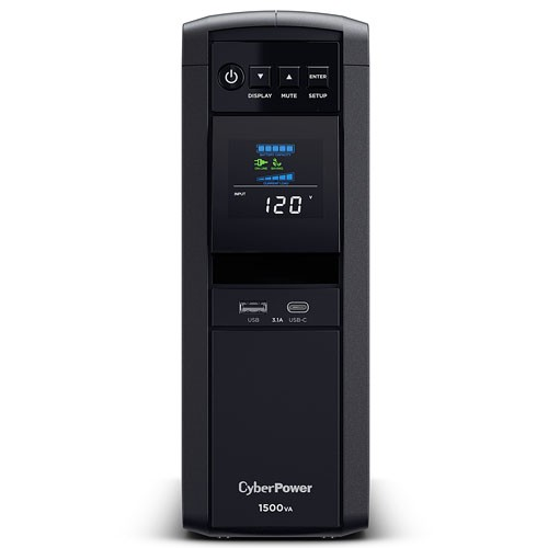 Cyberpower Pure Sine Wave UPS 1500VA 900W PFC Compatible