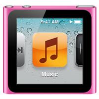 8203950 lg Apple iPod nano 8GB MC692LL/A Pink 6th Generation   $149