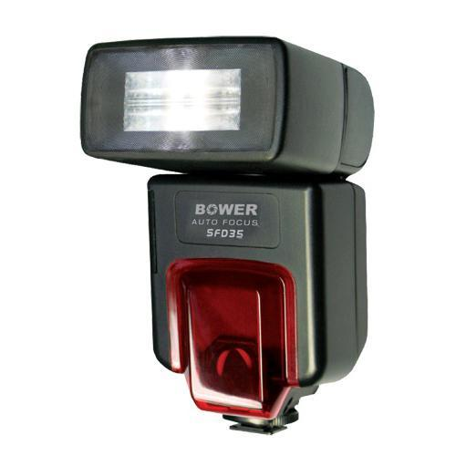Bower SFD35C Digital TTL Shoe Mount Flash (Guide No. 112'/34 m at 50mm) for Canon E-TTL II