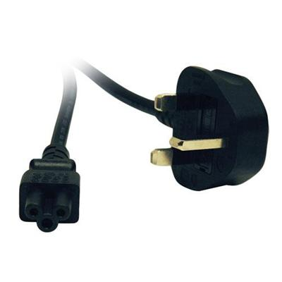 TrippLite 6ft Heavy Duty Power Cord (C5 to BS-1363 UK Plug) (P060-006)