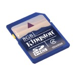 Flash memory card - 8 GB - Class 4 - SDHC