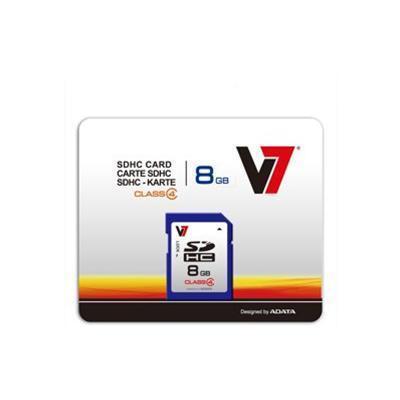 V78GB Secure Digital SDHC Class 4 Flash Memory Card(VASDH8GCL4R-1N)
