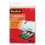 3M Thermal Pouches, Photo Size  5.31 in x 7.28 in 20/pack TP5903-20