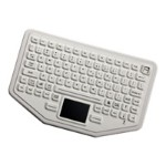 iKey BT-87-TP-WHITE-P - Keyboard - Bluetooth - white