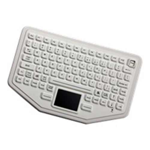 Panasonic iKey BT-87-TP-WHITE-P - keyboard