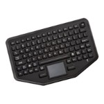 iKey BT-87-TP-P - Keyboard - Bluetooth - black