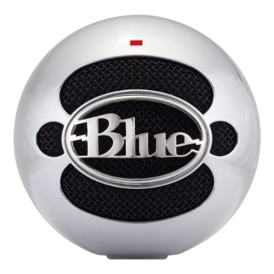 Blue MicrophonesSnowball USB Microphone - Brushed Aluminum(SNOWBALL-BA)