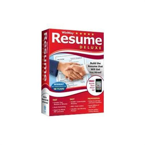 Nova Development WinWay Resume Deluxe ( v. 14 ) - box pack