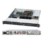 Super Micro Supermicro SC111 TQ-563CB - Rack-mountable - 1U - SATA/SAS - hot-swap 560 Watt - black CSE-111TQ-563CB