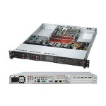 Supermicro SC111 TQ-563UB - Rack-mountable - 1U - extended ATX - SATA/SAS - hot-swap 560 Watt - black