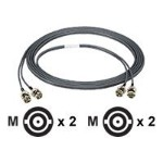 Black Box High-Speed DS-3 - Network cable - BNC (M) to BNC (M) - 100 ft - coaxial - solid - gray DS3-0100-BNC