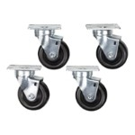 Rack casters kit - for Comm Cabinet