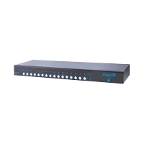 Raritan Computer expreZo EZswitch EZ-116 - KVM switch - 16 ports - rack-mountable